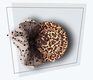 Fotobox Accessoires Leopardenhut
