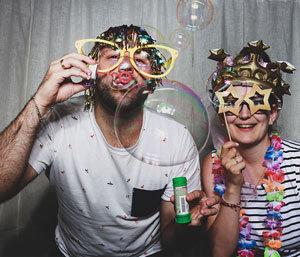 Hochzeit mit der Fotobox